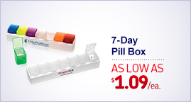 Promotional 7-Day Custom Pill Box