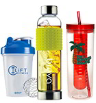 Shaker Bottles & Infuser Water Bottles