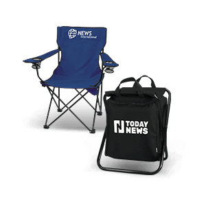 Folding Chairs and Stadium Cushions