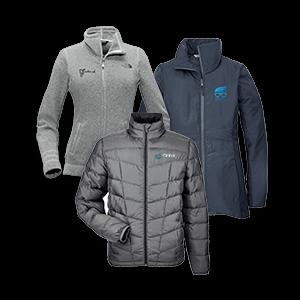 Customized Jackets, Fleece, Vests and Rainwear