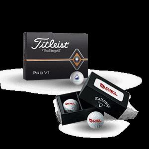 Branded Promo Golf Balls