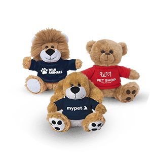 Customized Stuffed Animals and Bean Bag Animals