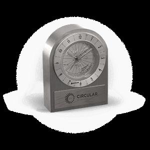 Personalized Desk Clocks
