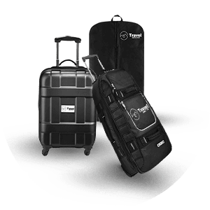 Logo Luggage and Garment Bags