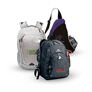 Promotional Branded Backpacks and Sling Bags