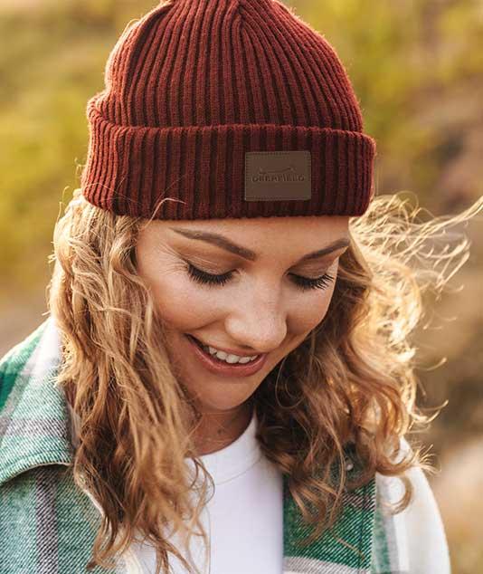 Logoed Knit Cap