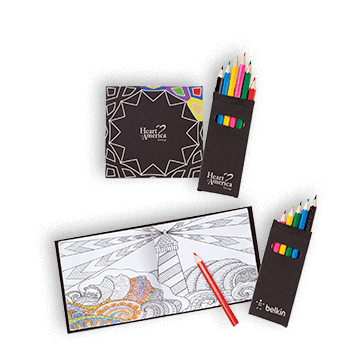 Promotional Adult Coloring Books