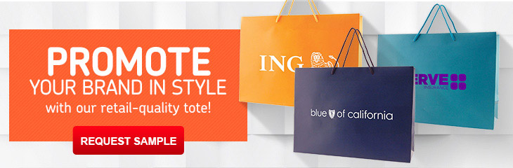 Promotional Gift & Paper Shopping Bags