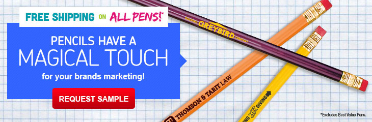 Custom Imprinted Pencils & Mechanical Pencils