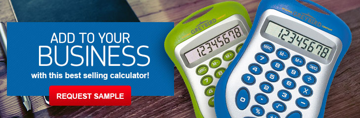 Customizable Calculators Branded with Your Logo