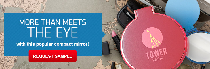 Imprinted Compact Mirrors
