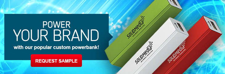 Promotional Power Banks & Portable Chargers