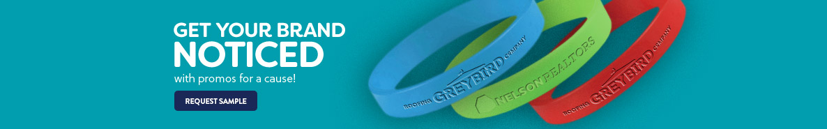 Promotional Wristbands & Custom Awareness Bracelets