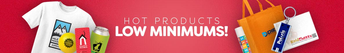 Low Minimum Products