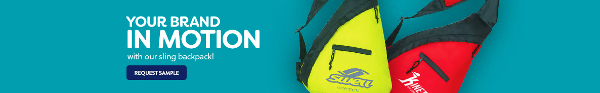 Promotional Branded Backpacks & Sling Bags