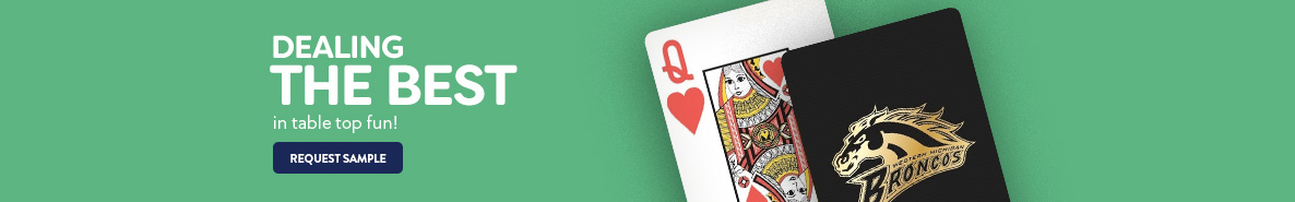 Custom Printed Promotional Playing Cards & Poker Sets
