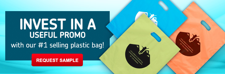 Custom Printed Plastic Bags with Logo