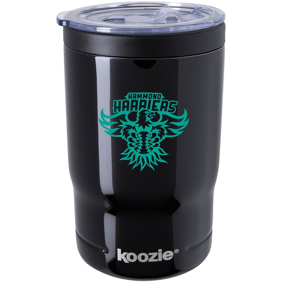 Black KOOZIE® Triple Vacuum Custom Tumbler & Insulator - 13 oz.